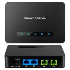 Grandstream HT812 ATA, analog phone adapter, replace ht502, gigabit ATA, ATA and router, NAT router, 2-port ATA, HT812