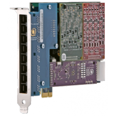 Digium AEX800 Placa Analógica para 8 Portas Analóicas Barramento PCI-Express