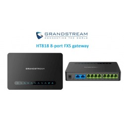 Grandstream HT818 Gateway Analógico 8 Portas FXS Gigabit
