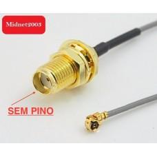Cabo Pigtail uFL para RP-SMA Hyperlink L-Com