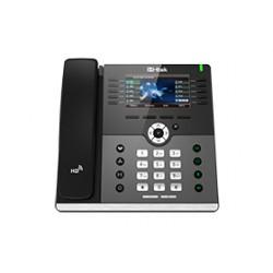 H-Tek UC926 - Telefone IP HD 6 Linhas com Display Colorido