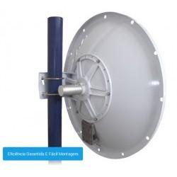 2Flex Antena Disco Direcional 4.9-5.8GHz 30dBi
