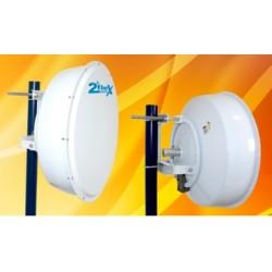 2Flex Antena Disco Direcional 5.1-5.8GHz 30dBi Shield Radome