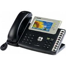 Yealink SIP-T38G - Telefone IP 6 Contas Voip Display Colorido