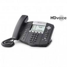 Polycom SoundPoint IP 650 - Telefone IP HD, 6 Linhas