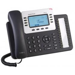Grandstream GXP2124 Telefone IP 4 Linhas SIP HD POE 24 Teclas Programáveis