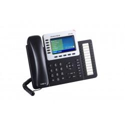 Grandstream GXP2160 Telefone IP 6 Linhas SIP POE 24 Teclas Programáveis