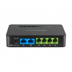 Grandstream HT814 Gateway Analógico 4 Portas FXS Gigabit